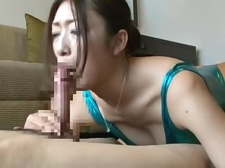 Crazy Japanese whore Reiko Kobayakawa in Best Lingerie, Blowjob JAV scene
