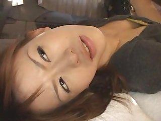 Horny Japanese whore Ai Himeno in Amazing Teens, Masturbation JAV movie