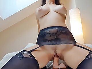 Crazy ride and creamy cum after long day at work - Mysti Life