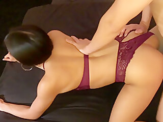 ASIAN COLLEGE BABE WITH PERFECT ASS FUCKS LIKE A DIRTY SLUT