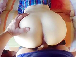 Sweet ass young step sister