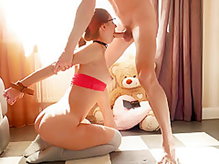 I just had to tie this cutie and fuck her sweet ass (she seems to cum)